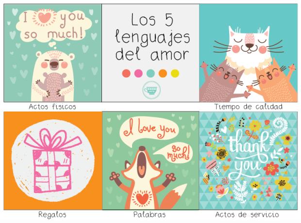 Los 5 lenguajes del amor en los niños